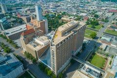 Aerial image Alabama Power building Downtown Birmingham stock photo