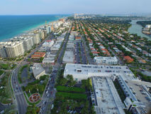 Aerial image Bal Harbour FL Stock Photos