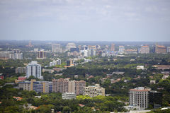 Aerial image Coral Gables Florida. Aerial image of Coral Gables Florida USA stock photo