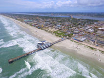 Aerial image of Daytona Beach FL USA Stock Images
