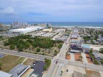 Aerial image of Daytona Florida Royalty Free Stock Photography