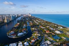 Free Aerial Image Golden Beach FL USA Stock Images - 101715724