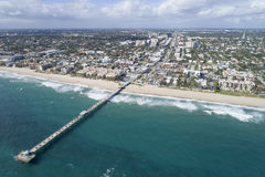 Aerial image Lauderdale by the sea Stock Photos