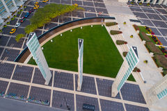 Aerial image McCormick Square Chicago Royalty Free Stock Image