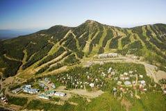 Aerial Image Of Mt. Washington Alpine Ski Resort, BC, Canada Royalty Free Stock Photography