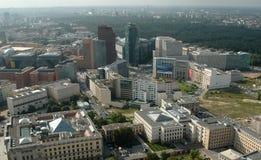 Aerial image skyline Berlin Stock Images