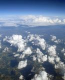 Aerial image. Of Southern France stock images