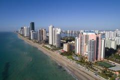 Aerial image Sunny Isles Beach. Aerial image of Sunny Isles Beach FL, USA Stock Image