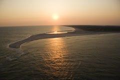 Aerial of island. Stock Photo