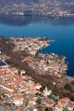 Aerial italian panorama Stock Image