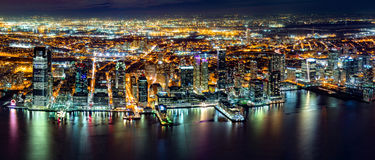Aerial Jersey City Stock Images