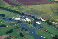 Aerial of Kapolei Golf Course Stock Photo