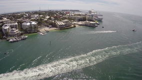Aerial Key West Florida Royalty Free Stock Images