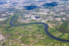 Aerial of Krakow Royalty Free Stock Photo