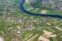 Aerial of Krakow Stock Image