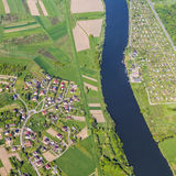 Aerial of Krakow Stock Images