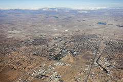 Lancaster California Aerial Royalty Free Stock Images