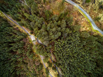 Aerial landscape Royalty Free Stock Image