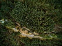 Aerial landscape Stock Image
