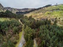 Aerial landscape Stock Images