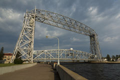 Aerial Lift Bridge Royalty Free Stock Photography
