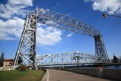 Aerial Lift Bridge - Duluth Stock Image