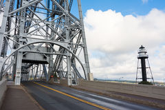 Aerial Lift Bridge Royalty Free Stock Image