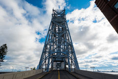 Aerial Lift Bridge Stock Image