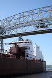 Aerial lift bridge - Duluth, MN Stock Images