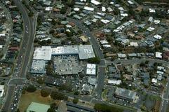 Aerial of Likelike Highway, Kam Shopping Center, surrounding Nei Stock Image