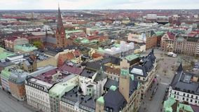 Aerial View of Malmo, Sweden