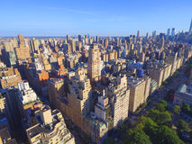 Aerial Manhattan Stock Photos