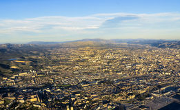 Aerial of Marseille Royalty Free Stock Image