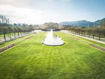 Aerial of Marseille and the park Borely Stock Photography
