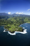 Aerial of Maui. Stock Photography