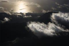 Aerial of Maui. Stock Photos