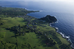 Aerial Maui landscape. Stock Photos
