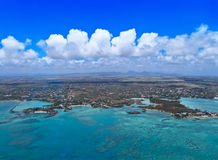 Aerial Mauritius Royalty Free Stock Photos