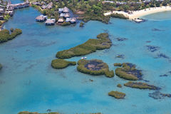 Aerial Mauritius Royalty Free Stock Photography