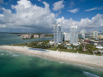 Aerial Miami Beach Royalty Free Stock Photo