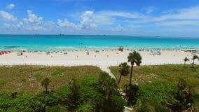 Aerial Miami Beach 4k 2 stock footage
