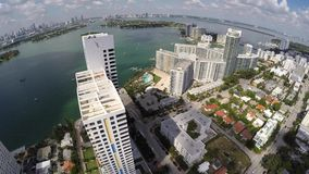 Aerial Miami Beach 4k video