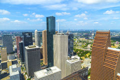 Aerial of modern buildings Royalty Free Stock Photography
