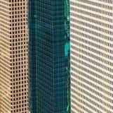Aerial of modern buildings Stock Image