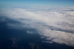 Aerial Royalty Free Stock Photography