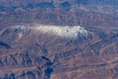 Aerial mountain view Stock Photo