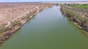 Aerial Murray River Riverscapes stock video