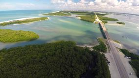 Aerial Naples FL stock video