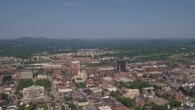 Aerial New Hampshire Manchester July 2017 Sunny Day 4K Inspire 2