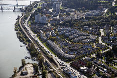 Free Aerial New Westminster Royalty Free Stock Photo - 20261535
